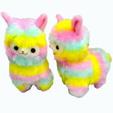 Rainbow Alpacasso Kawaii Alpaca Llama Arpakasso Soft Plush Toy Doll Gift GT