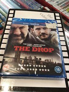 THE DROP BLU-RAY BRAND NEW James Gandolfini Tom Hardy