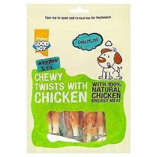 Good Boy Chewy Twists With Chicken Dog Treats 10 X 90g Now Only