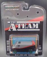 """Greenlight """"The A-Team"""" BA's 1983 GMC Vandura Chase Car 1/64 Diecast Car 44790B"""