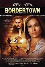 BORDERTOWN Movie POSTER 27x40 Jennifer Lopez Antonio Banderas Kate del illo