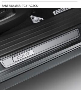 New Genuine Mazda CX-9 Scuff Plates