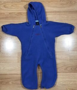 Baby PATAGONIA Bunting Size Large 16/20 Pounds Purple