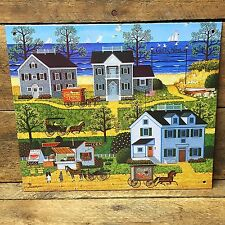 Charles Wysocki Cape Cod Village Gulls Cove Decorative Tin Sign