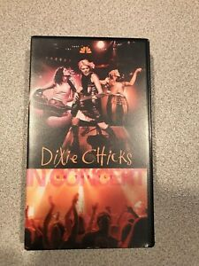 Very Rare Collectible Dixie Chicks On The Fly In Concert VHS Promotional Video