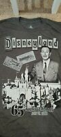 Disneyland 65th Anniversary AP Annual Passholder Walt Disney T-Shirt Large L
