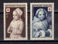 FRANCE FRANCIA 1951 Au Profit de la Croix-Rouge MNH**