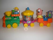 Fisher Price Little People ABC Zoo Train Animal Alphabet Circus RARE Complete
