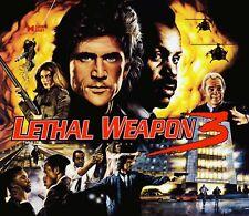 Data East Lethal Weapon 3 Pinball Machine Translite