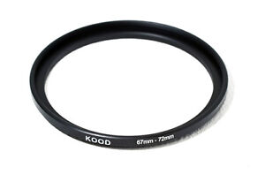 67mm-72mm 67-72 Stepping Ring Filter Ring Adapter Step up