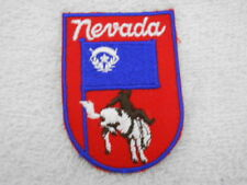 Nevada State New Sew / Iron On Name Patch Tag