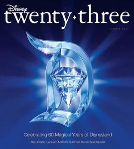 NEW D23 Magazine Summer 2015 Disneyland 60th Sealed
