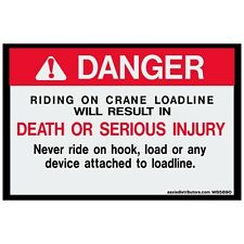 "Crane Loadline 5"" x 8"" 2-Pack *NEW*"