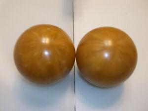 "Duckpin Balls/REFINISHED/Zodiac's/2 Ball Set/ 5""/3lbs 10.40oz/Mint Cond"
