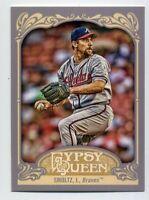 2012 Topps Gypsy Queen #261 JOHN SMOLTZ Base BASEBALL CARD Atlanta Braves