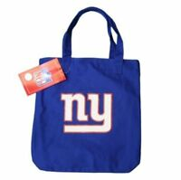 NFL New York City NY Giants Logo Ladyluck Tote Bag NYC Shoulder Canvas Shopping