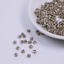 B009 3mm Sew On Rhinestones Mini Glass Doll Clothes Doll Sewing Craft Supplies