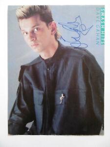 """Dave Gahan """"Depeche Mode"""" Autogramm signed A4 Magazinbild"""