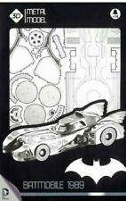 "BATMAN - 1989 Batmobile 10"" 3D Metal Model Kit (SD Toys) #NEW"