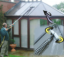 5 METRE/18 FOOT CONSERVATORY ROOF CLEANER.SOLAR PANEL KIT. WATER FED POLE KITS