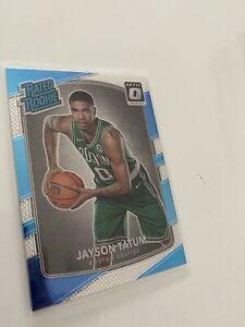 2017-18 NBA Donruss Optic Jayson Tatum Rated Rookie RC 🔥 #198 Celtics PSA 10??