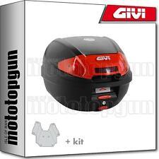 GIVI TOP CASE E300N2 + PORTE-PAQUET PIAGGIO VESPA GTS 125 2010 10 2011 11