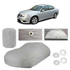 Saab 9-3 4 Layer Car Cover Fitted In Out door Water Proof Rain Snow UV Sun Dust