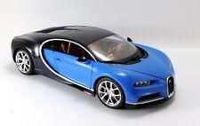 Burago BUR11040B - Bugatti chiron 2016 Bleu 1/18  BBURAGO