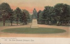 Vintage Postcard, Elias Howe Monument, Bridgeport, Connecticut - Rotograph