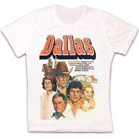 Dallas 80s Classic Tv Series J.R. Retro Vintage Hipster Unisex T Shirt 1085