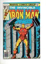 Iron Man #100 HIGH GRADE VF+ 8.5! JIM STARLIN ART! MANDARIN BATTLE ISSUE 1977!