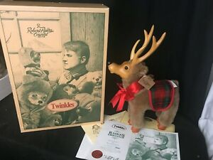 Robert Raikes Original Twinkles Reindeer Signed with COA in Box