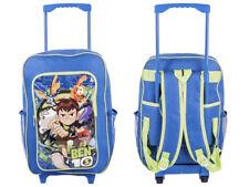 Ben Nuovo di Zecca 10 Ragazzi Con Ruote Zaino Scuola Trolley per bambini e bagagli da viaggio