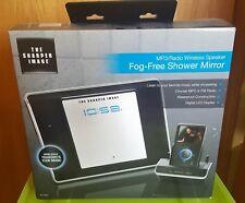 The Sharper Image MP3/Radio Wireless Speaker Fog-Free Shower Mirror
