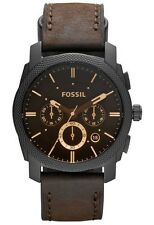 Fossil Machine stopwatch Analog Brown Dial Men's Watch - FS4656..SALE