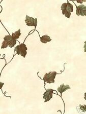 Country Ivy / Grape Vines Faux Wallpaper 8266247