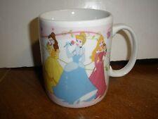 Gibson Disney 3 Princess Princesses Mug Snow White, Belle, Cinderella