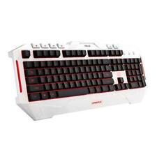 Asus Cerberus Arctic White Gaming Keyboard,12 Macro Keys, Multi LED Full Backlit