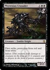 PHYREXIAN CRUSADER Mirrodin Besieged MTG Black Creature — Zombie Knight RARE