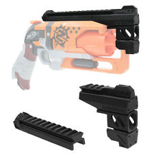 MaLiang 3D Print Snub Magnum Barrel Rail Black for Nerf HammerShot Modify Toy