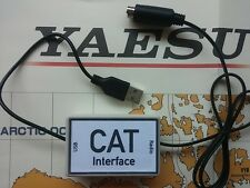 USB CAT Interface For Yaesu FT-817 FT-100D FT-897 FT-857 PC/Windows/Mac/Linux