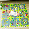 Children's Mats Baby Kids Rug CITY Carpet Car Play Mat Track Crawling#