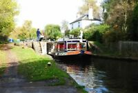 PHOTO  GRAND UNION CANAL KINGS LANGLEY LOCK 70 NEW TRIP BOAT