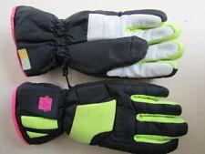 HPR 73 VTG Neon Black Pink Yellow Mogul Goretex Ski Snowboard Motorbike Gloves