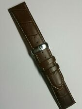 Bulova Original Leather Strap 22 mm deployment , deployant buckle clasp