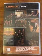 Les Mills Cxworx 10 Complete Release Dvd Cd Choreography