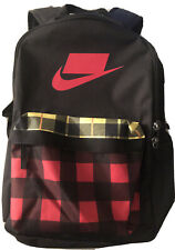 NIKE.72 BACKPACK-Black,Red,,Yellow,Front/Side Pockets-Padded Straps-NWOT