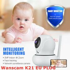 Wanscam K21 Wireless 1080P HD Webcam Indoor Person Detection Baby Pet Monitor EU