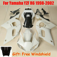 Unpainted Fairing Bodywork For Yamaha YZF R6 1998-2002 2005 2006-2007 2008-2016