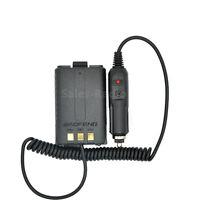 Baofeng UV-5R Battery Eliminator Car Charger Walkie Talkie Car Ham Radio Adapter